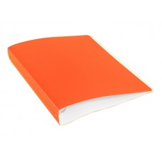 Папка 4 кольца А4 40мм d=35мм с карманом оранжевая Double Neon DNE0740/4Ror