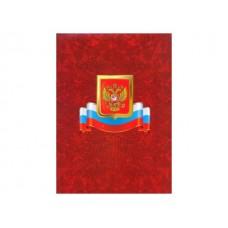 """Папка адресная """"Герб и флаг"""" А4 картон Имидж ПЛ 4000-19"""