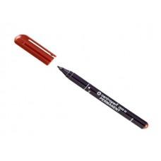 Маркер перманентный 2846 Centropen коричневый круглый 1мм