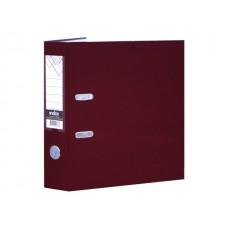 Регистратор  А4/80 Index бордовый с металлической окантовкой PP NEW MN 8
