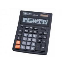 Калькулятор СITIZEN 12-разрядный черный 16*20 см SDC-444S