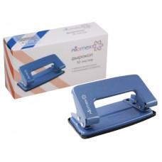 Дырокол на  10 листов металл синий Attomex 4020302