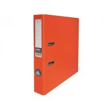 Регистратор  А4/50 Index оранжевый с металлической окантовкой 5/50 PP NEW OR